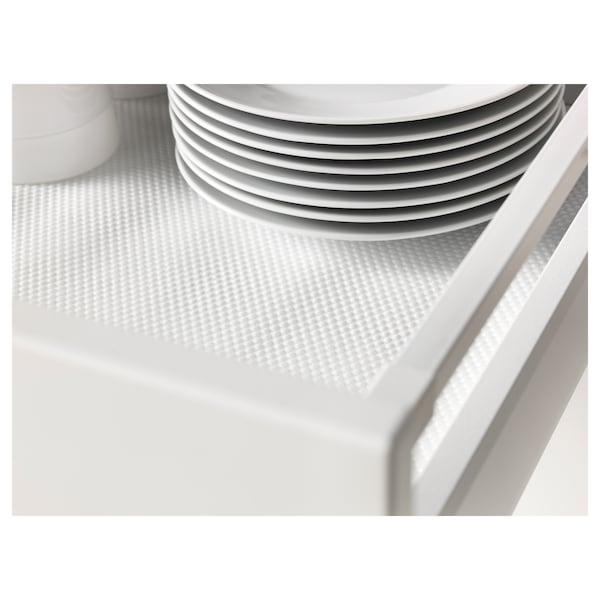 VARIERA Drawer mat, white, 150 cm