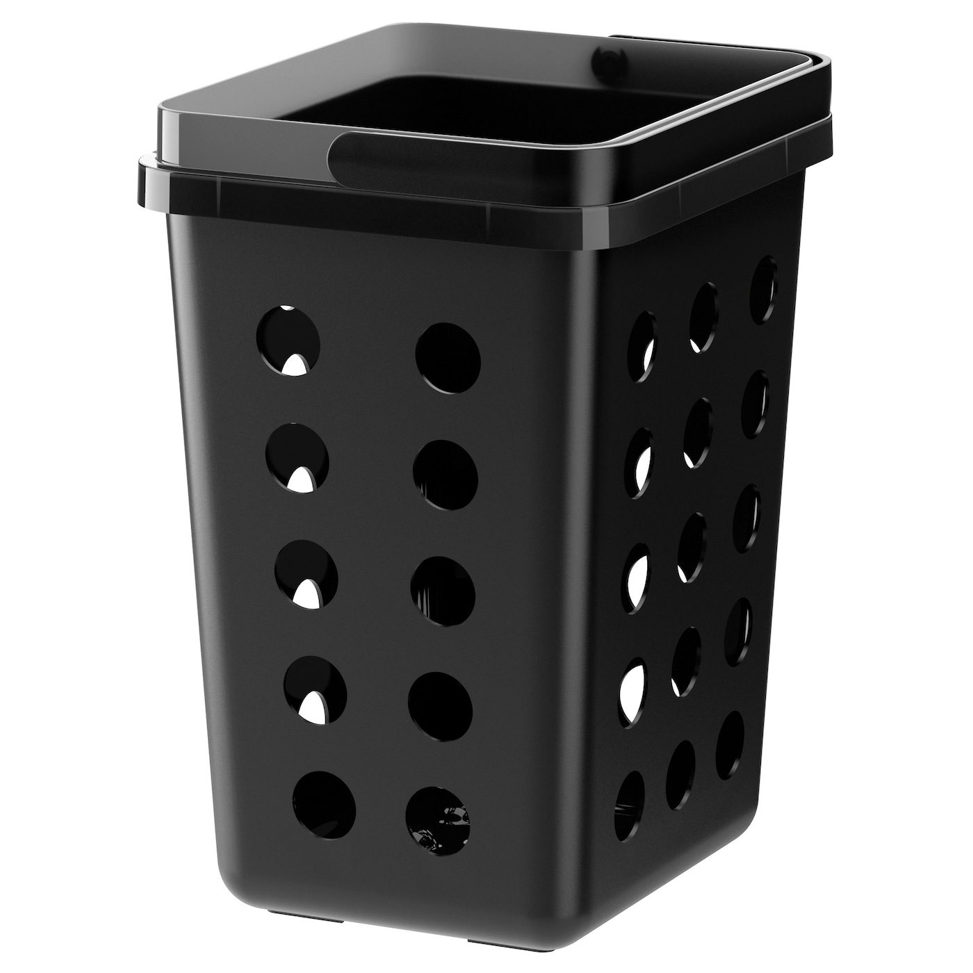 IKEA VARIERA ventilated waste sorting bin Rounded corners for easy cleaning.
