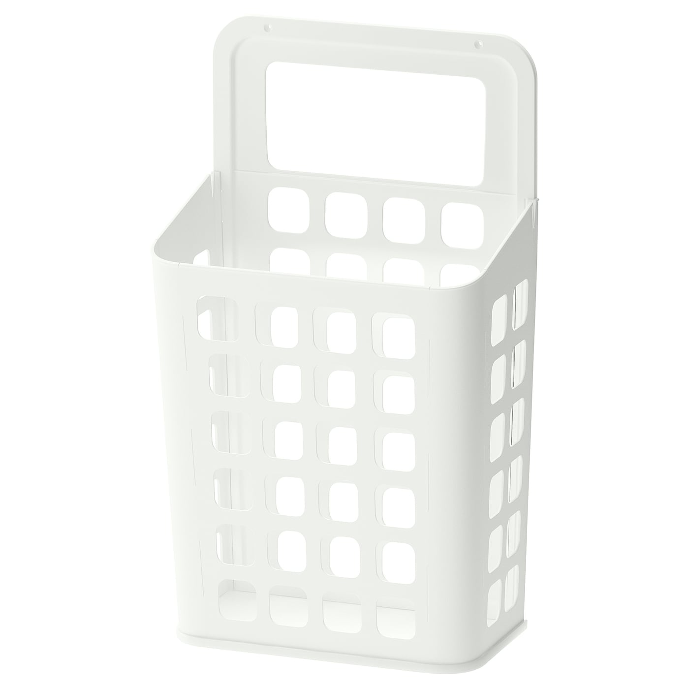 IKEA VARIERA waste bin Rounded corners for easy cleaning.