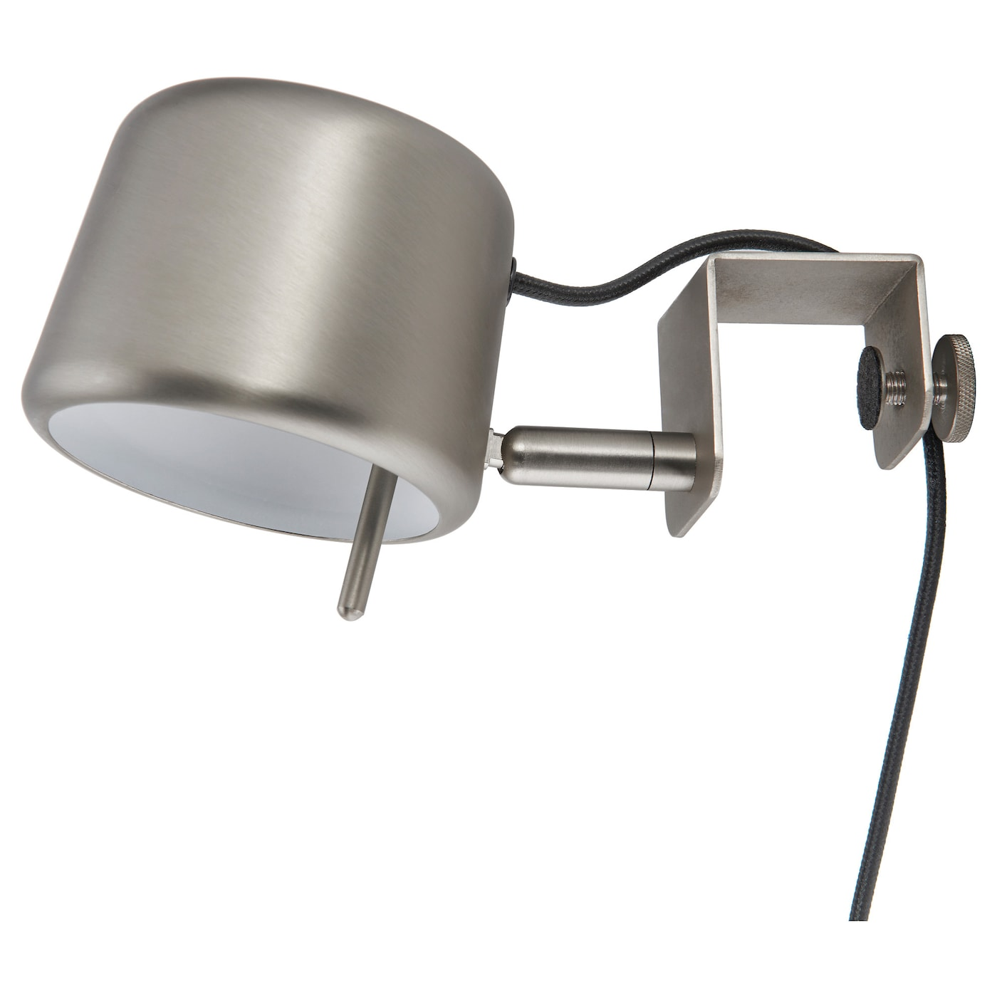 IKEA VARV clamp spotlight Easy to attach to the headboard for reading light in your bed.