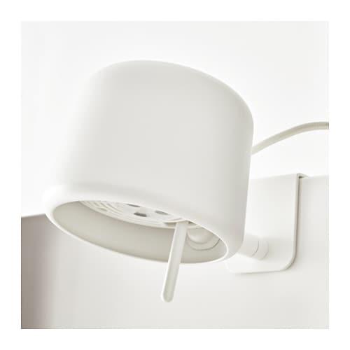 varv clamp spotlight white ikea. Black Bedroom Furniture Sets. Home Design Ideas