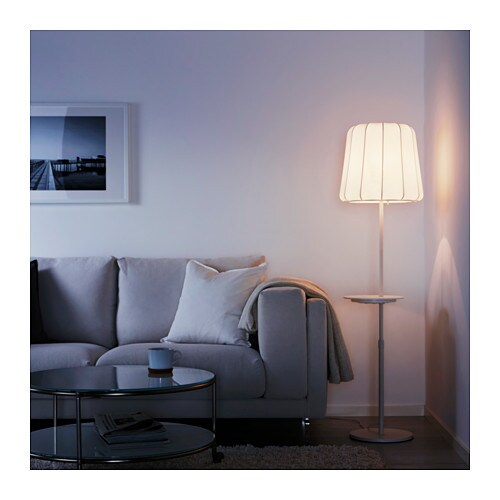 varv floor lamp with wireless charging ikea. Black Bedroom Furniture Sets. Home Design Ideas