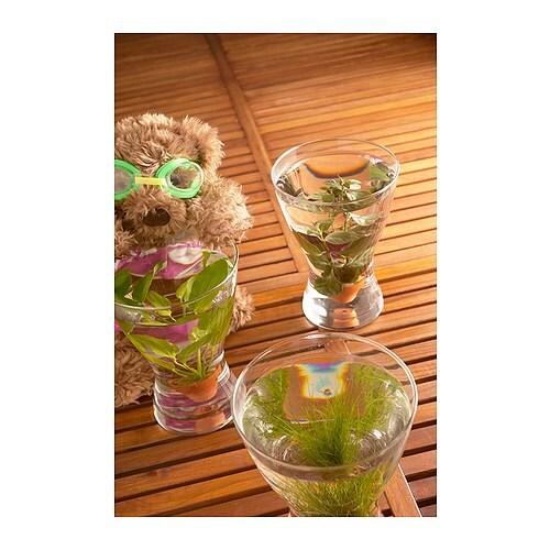 vasen vase clear glass 20 cm ikea. Black Bedroom Furniture Sets. Home Design Ideas