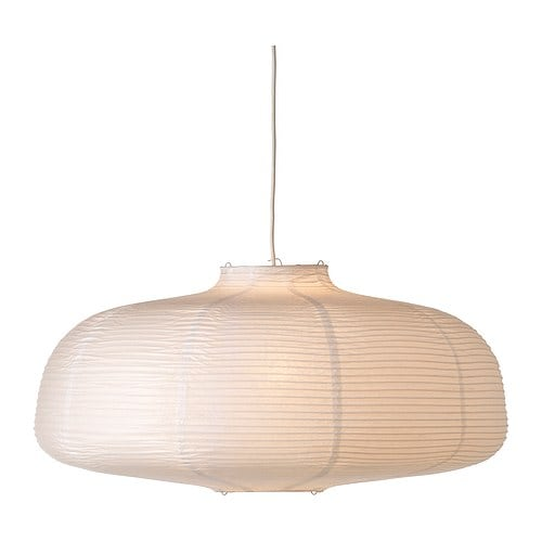 Lighting - Trellis Linen Drum Shade Pendant - Shades of Light
