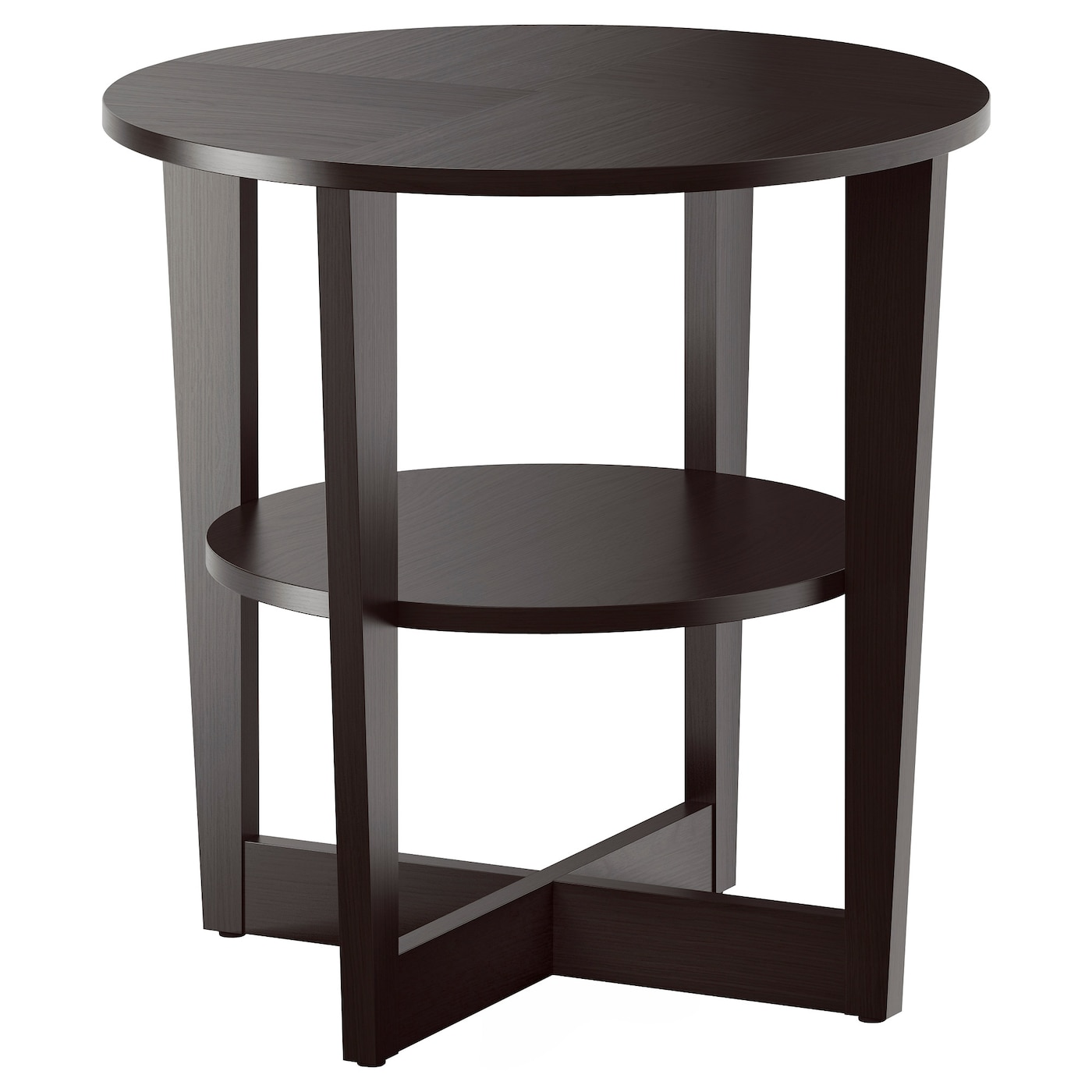 vejmon side table black brown 60 cm ikea. Black Bedroom Furniture Sets. Home Design Ideas