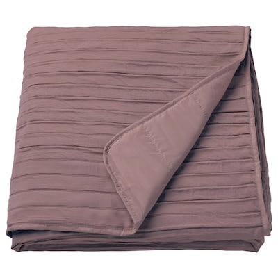 VEKETÅG Bedspread, lilac, 160x250 cm