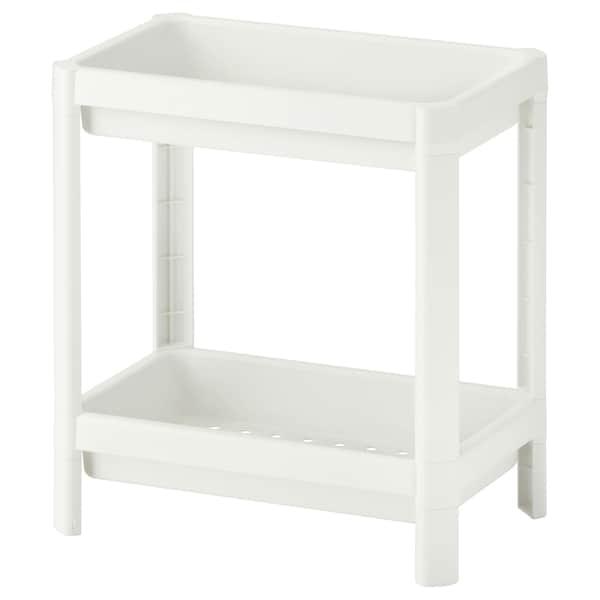 VESKEN shelf unit white 36 cm 23 cm 40 cm 13 kg