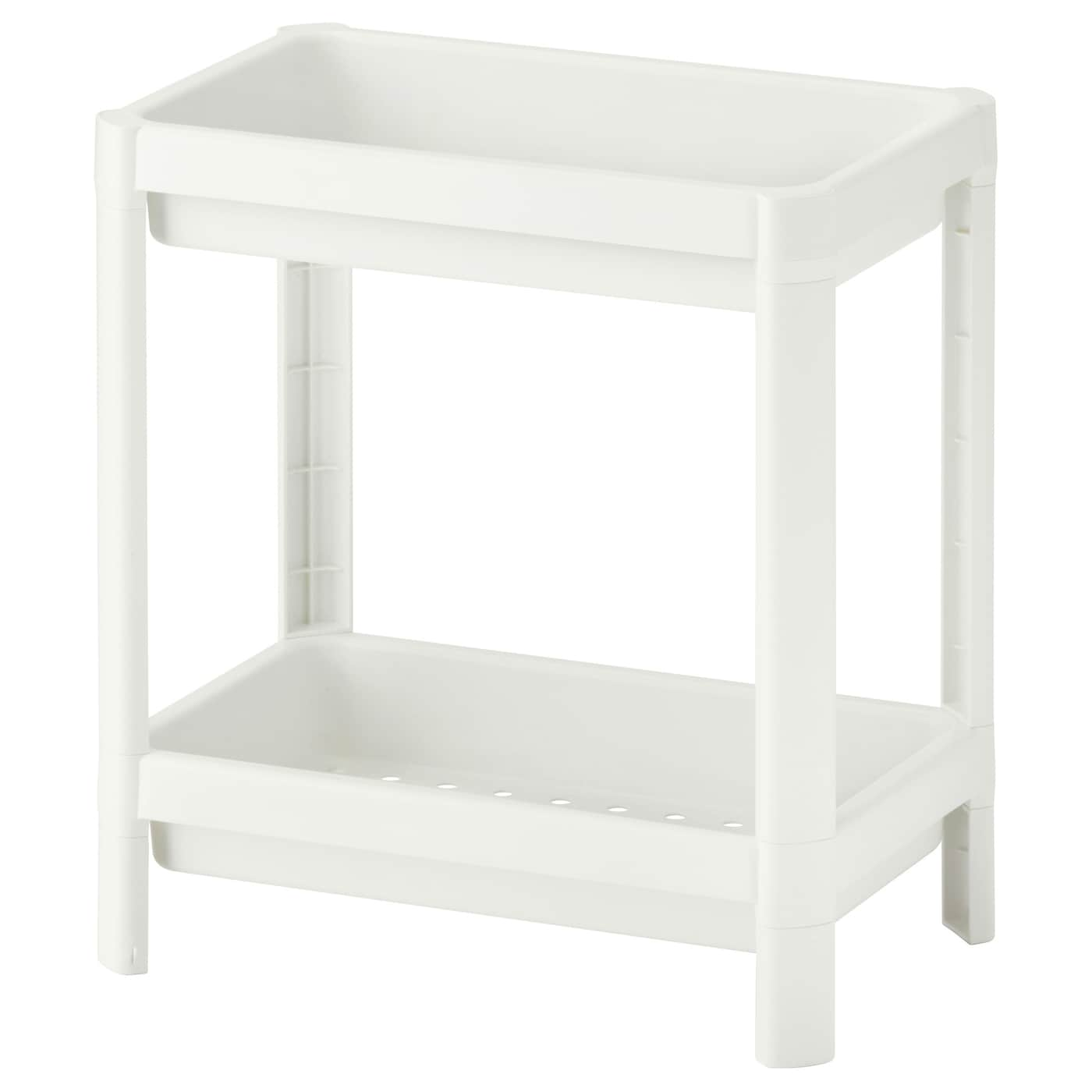 Ikea Vesken Shelf Unit Perfect In A Small Bathroom