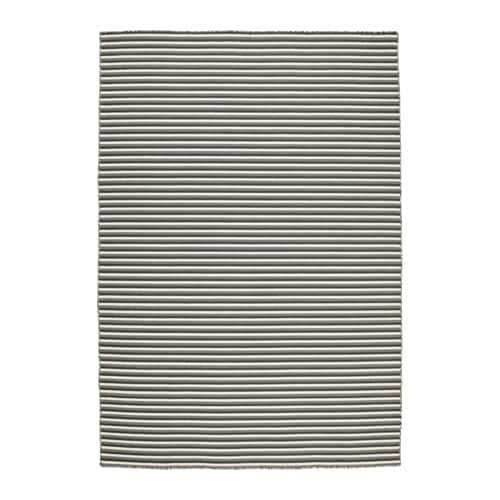 Vestbirk rug flatwoven handmade grey 133x195 cm ikea for Grey rug ikea