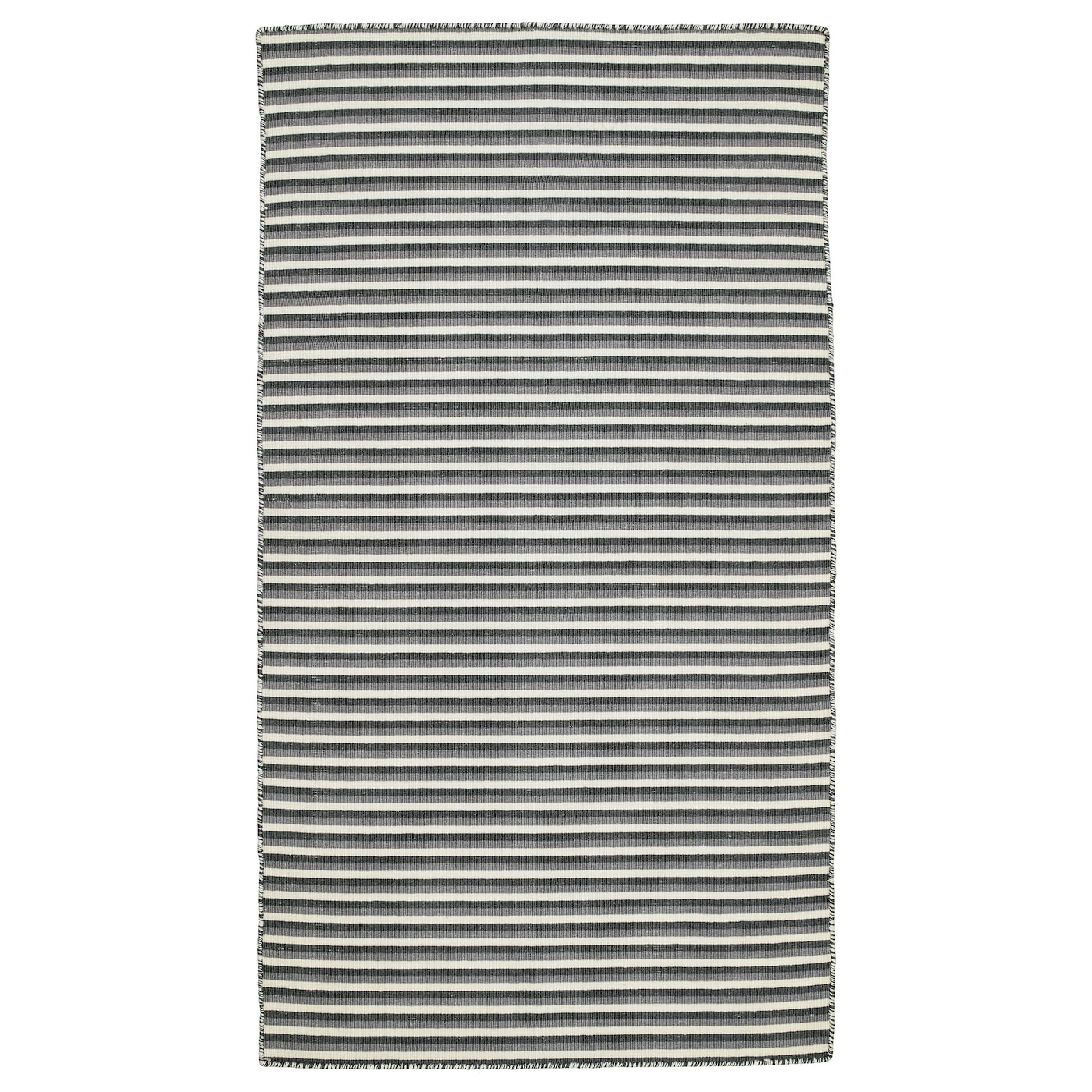 Ikea Rug Felt: VESTBIRK Rug, Flatwoven Handmade/grey 80x150 Cm