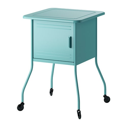 Vettre bedside table ikea for Ikea green side table