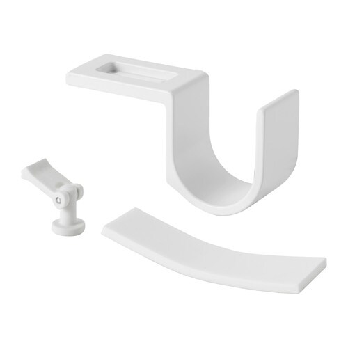 IKEA VIDGA curtain rod holder