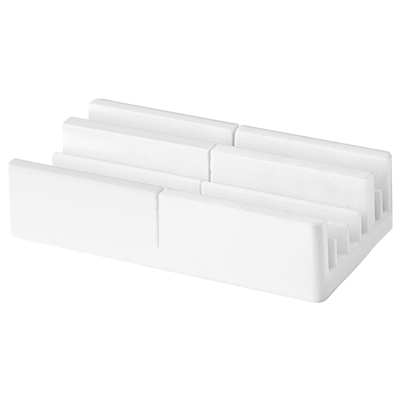 IKEA VIDGA cutting box Makes it easy to cut VIDGA curtain rails to the desired length.