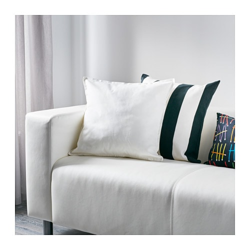 vigdis cushion cover white 50x50 cm ikea. Black Bedroom Furniture Sets. Home Design Ideas