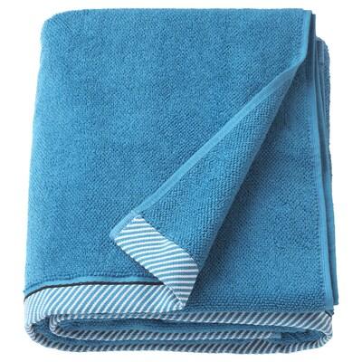 VIKFJÄRD Bath sheet, blue, 100x150 cm