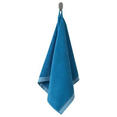 VIKFJÄRD Hand towel, blue, 50x100 cm