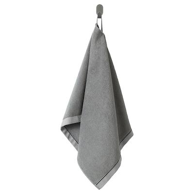 VIKFJÄRD hand towel grey 100 cm 50 cm 0.50 m² 475 g/m²