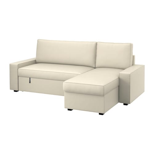 Vilasund cover sofa bed with chaise longue ikea the cover is easy to