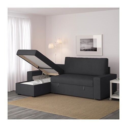 Dark grey sofa living room for Chaise urban ikea