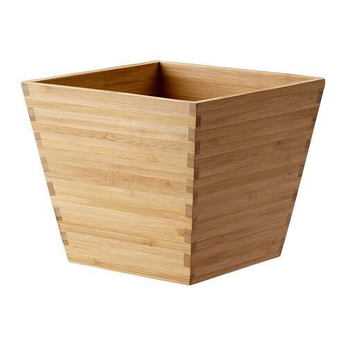 VILDAPEL Plant Pot Bamboo 12 Cm IKEA