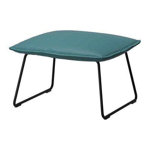 VILLSTAD Footstool IKEA The moulded high resilience foam provides great comfort that will last for years.