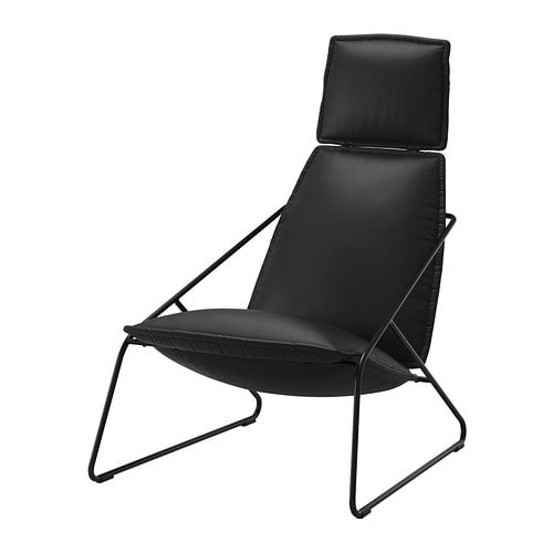 IKEA VILLSTAD high-back armchair The high back gives good support for your neck.