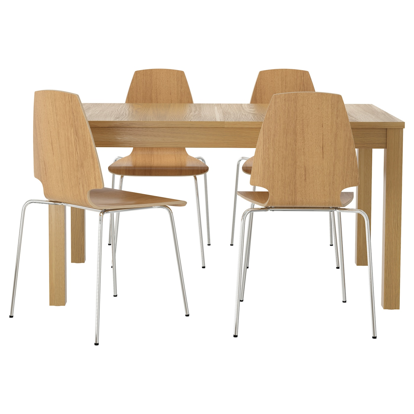 Dining table sets dining room sets ikea - Ikea wooden dining table chairs ...