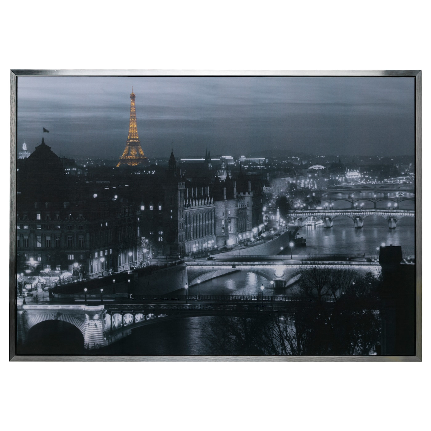 Vilshult picture paris 140x100 cm ikea for Ikea parati