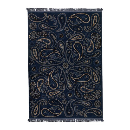 Navy Paisley Rug: How To Add Colour To Your Home