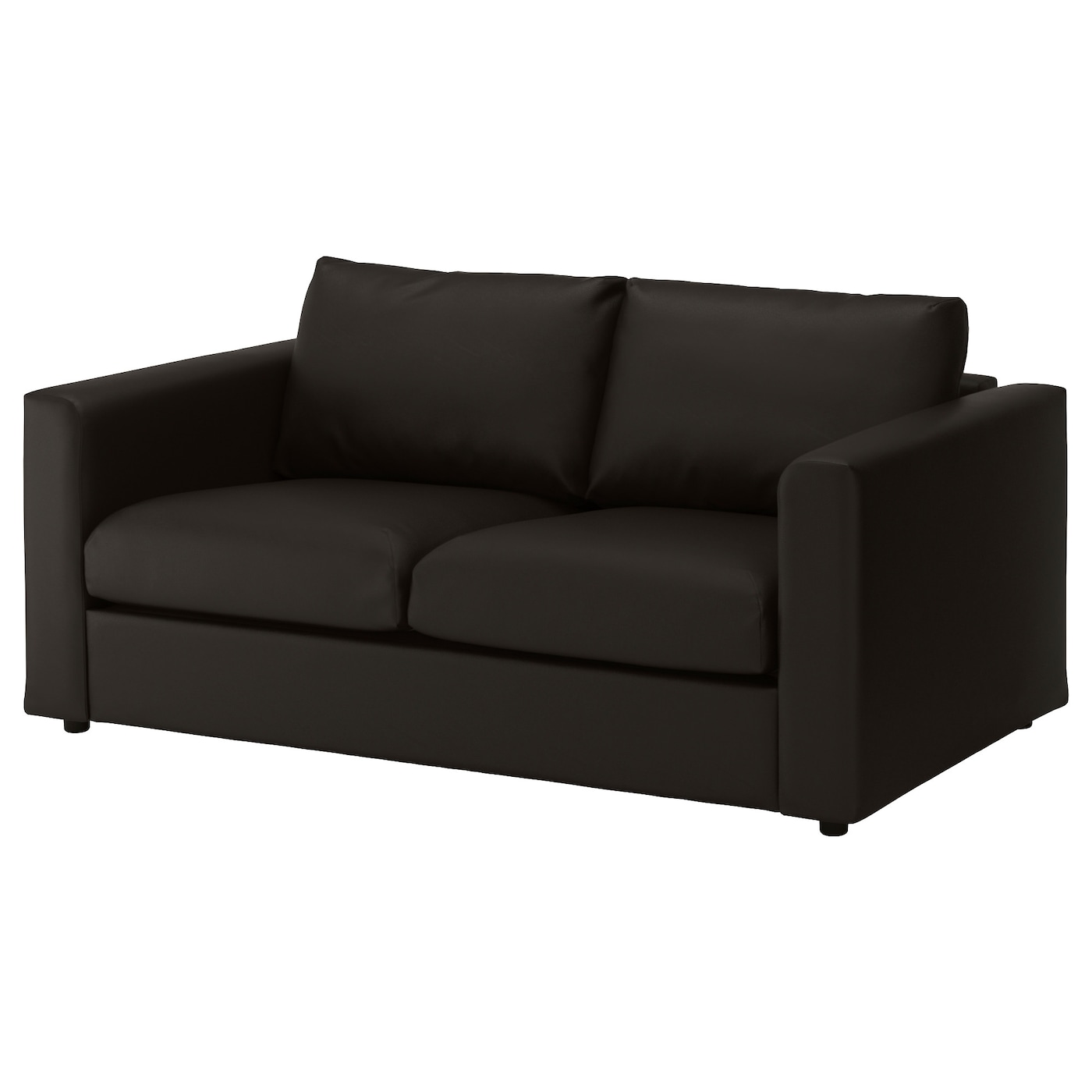 vimle 2 seat sofa farsta black ikea. Black Bedroom Furniture Sets. Home Design Ideas