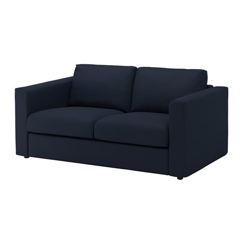 Vimle 2 seat sofa gr sbo black blue ikea for Sofas de 4 plazas baratos