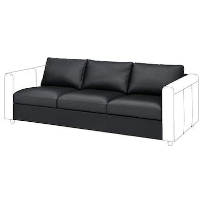 VIMLE 3-seat section, Grann/Bomstad black