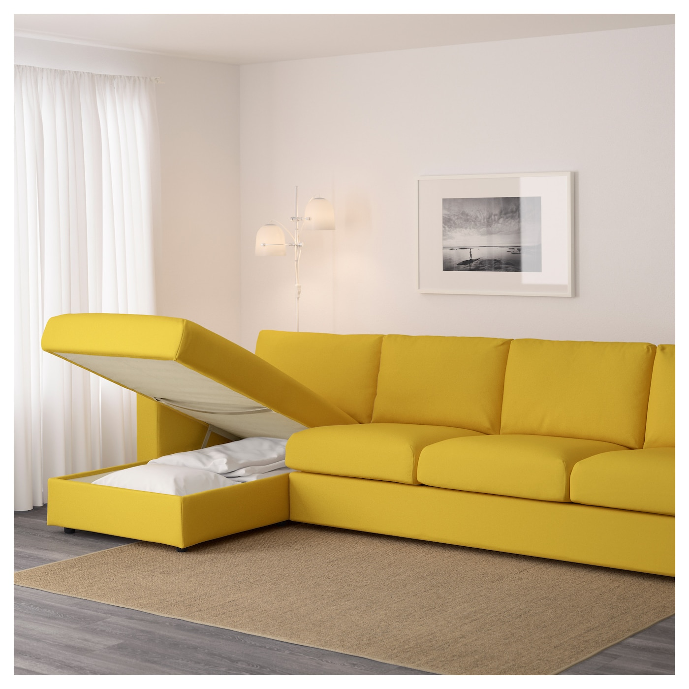 Ikea Vimle 4 Seat Sofa The Cover Is Easy To Keep