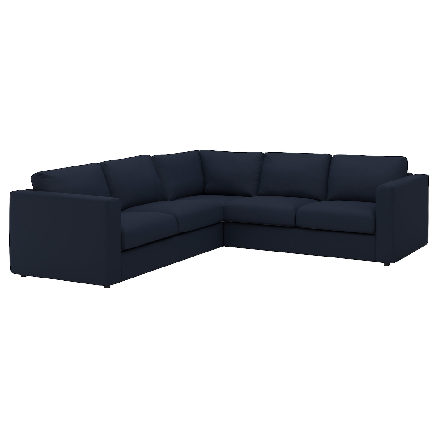 Black corner sofa ashmore leather corner sofa black right for Black corner sofa