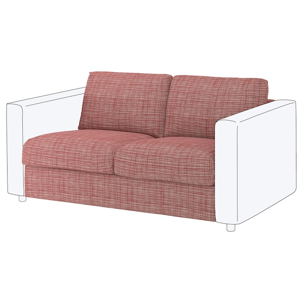 VIMLE Cover for 2-seat section, Dalstorp multicolour