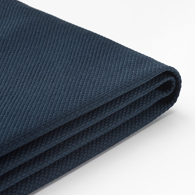 VIMLE Cover for 2-seat sofa, Gräsbo black-blue