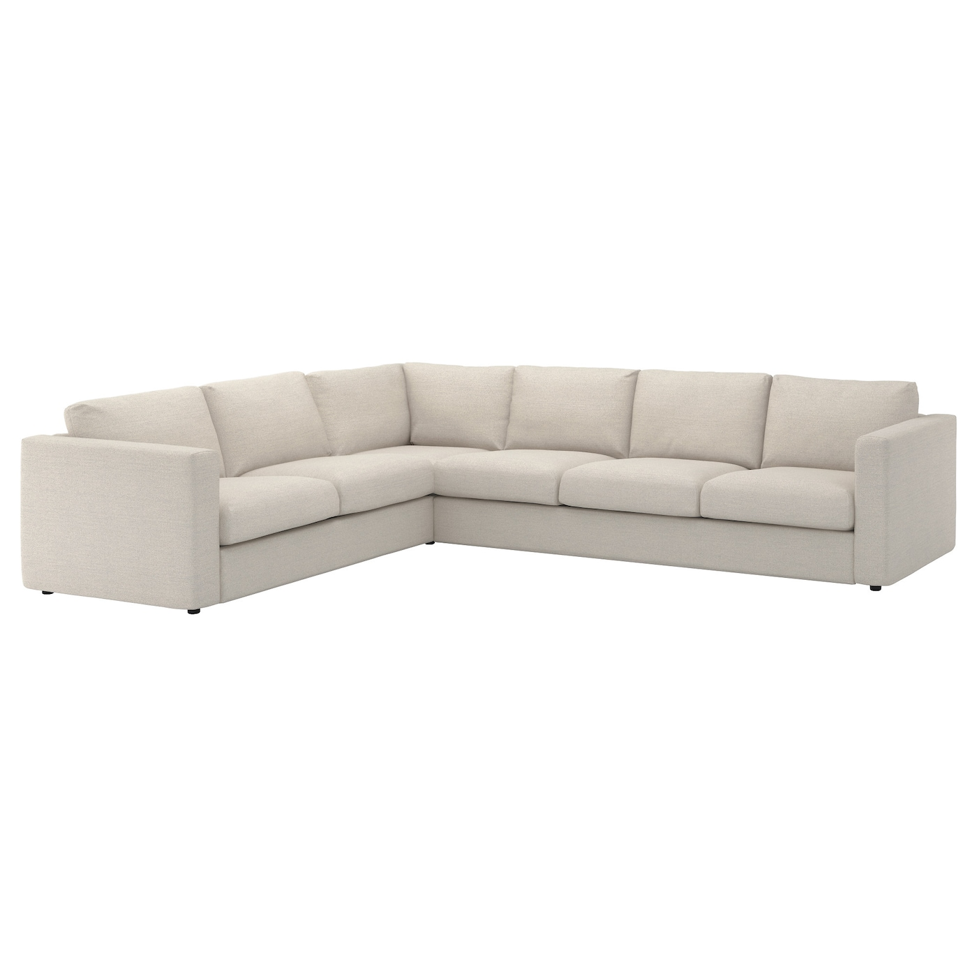 IKEA VIMLE cover for corner sofa, 5-seat