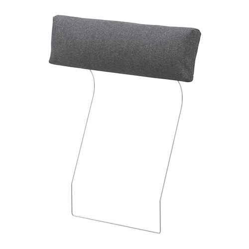 Vimle Headrest Gunnared Medium Grey Ikea
