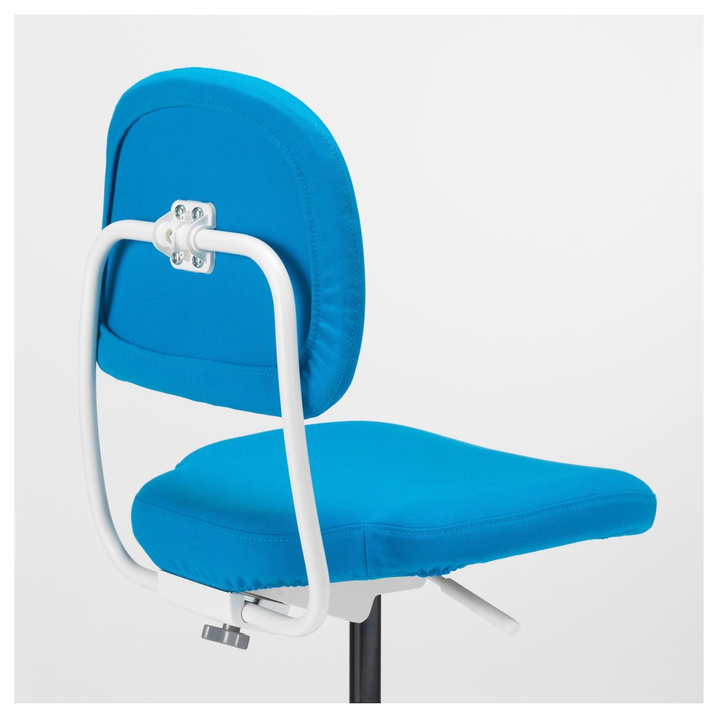 VIMUND Children s desk chair Vissle bright blue IKEA