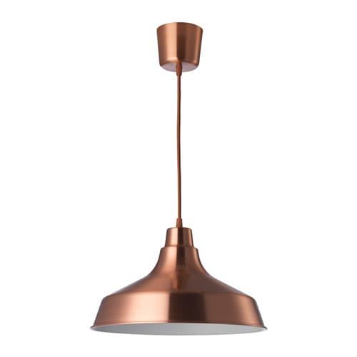 Vindkre pendant lamp copper colour 36 cm ikea ikea vindkre pendant lamp aloadofball Choice Image