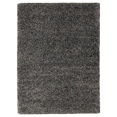 VINDUM Rug, high pile, dark grey, 170x230 cm