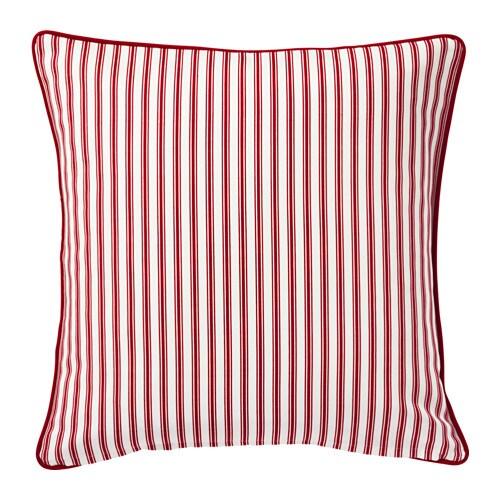 New ikea vinter 2016 stylish white red christmas cushion for Ikea uk cushion covers