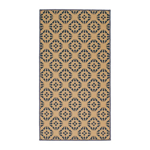 IKEA VINTER 2016 rug, flatwoven Easy to vacuum thanks to its flat surface.