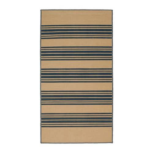 vinter 2016 rug flatwoven natural grey 80x150 cm ikea