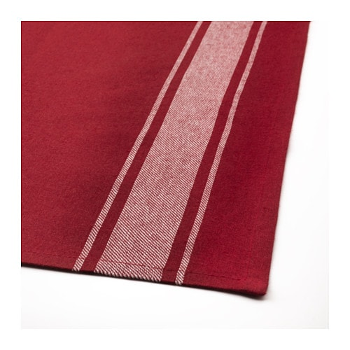 New Ikea Vinter 2016 Stylish Tablecloth Red White L 320