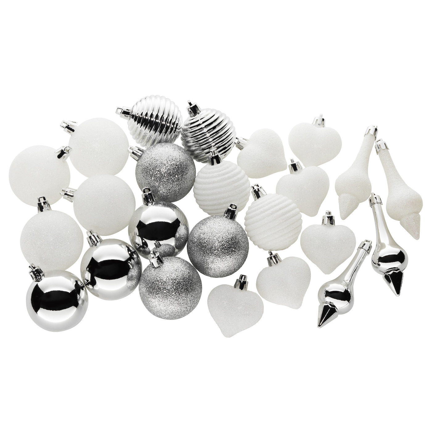 IKEA VINTER 2017 24-piece hanging decoration set