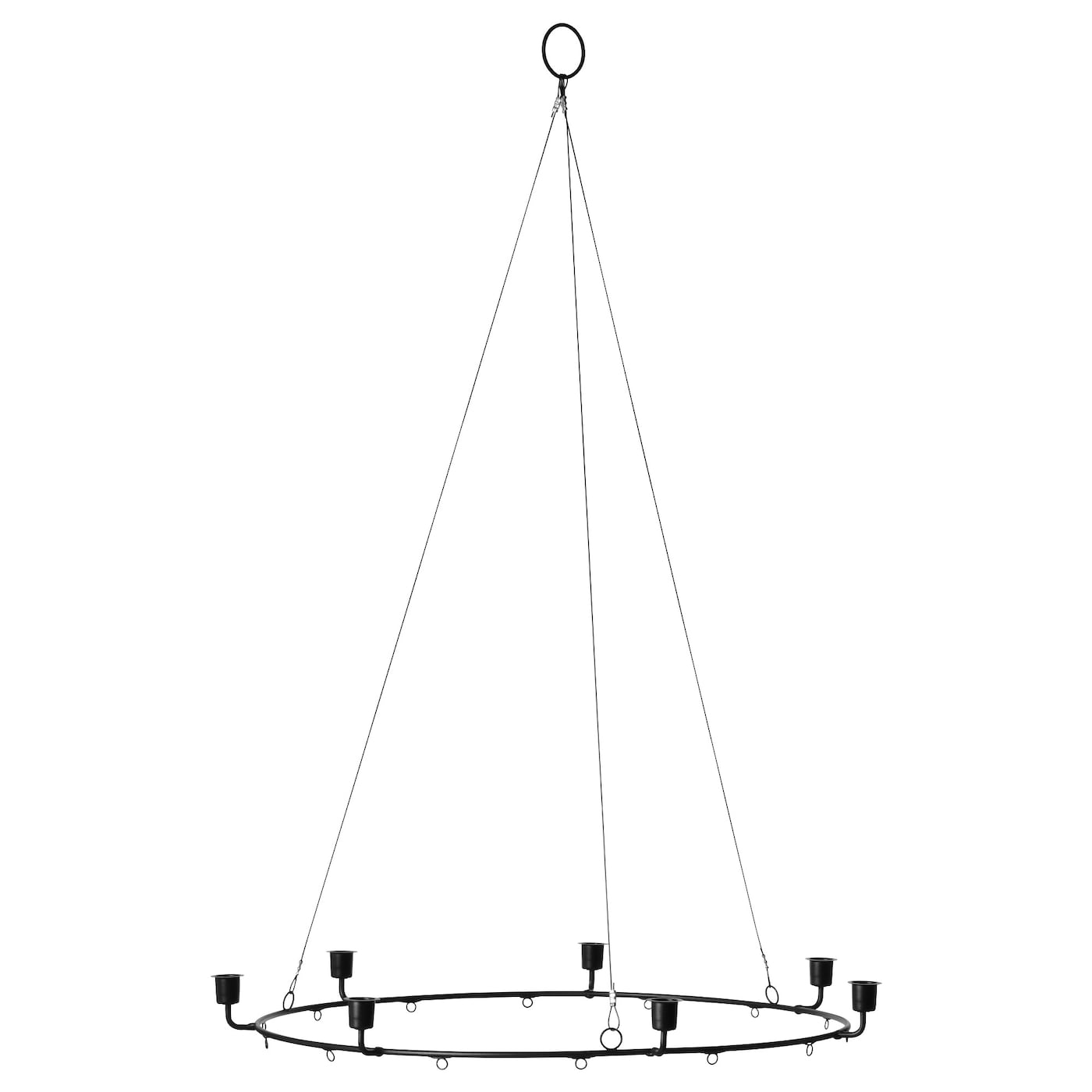IKEA VINTER 2017 chandelier for 7 candles