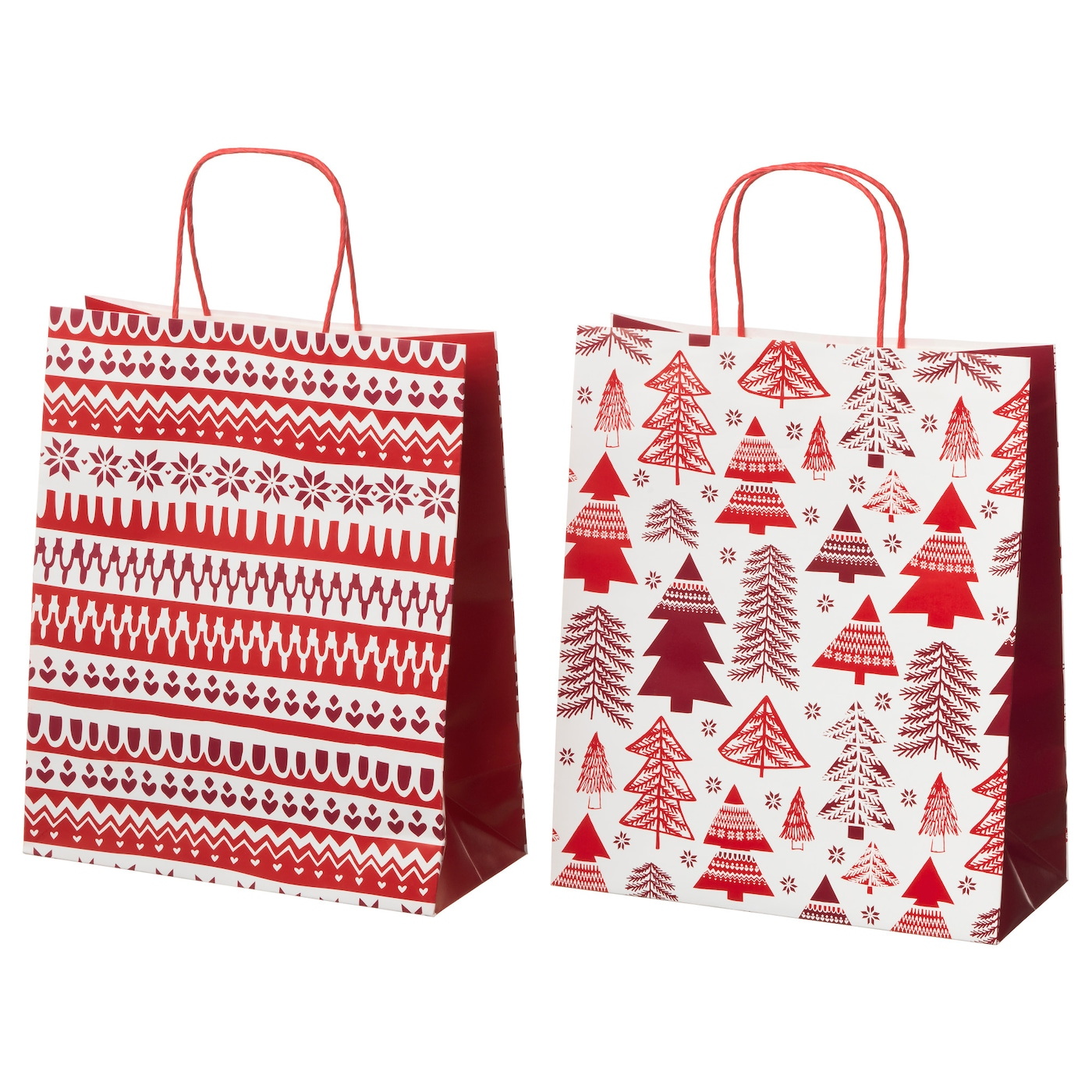 IKEA VINTER 2017 gift bag Can be used instead of gift wrap paper.