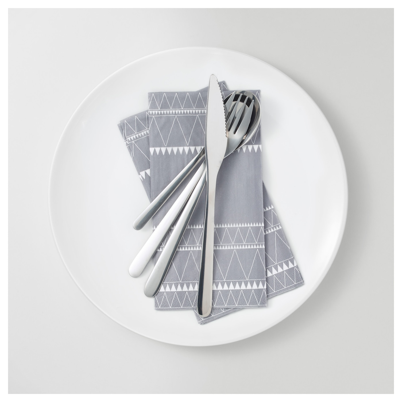 IKEA VINTER 2017 paper napkin The napkin is highly absorbent because it's made of three-ply paper.