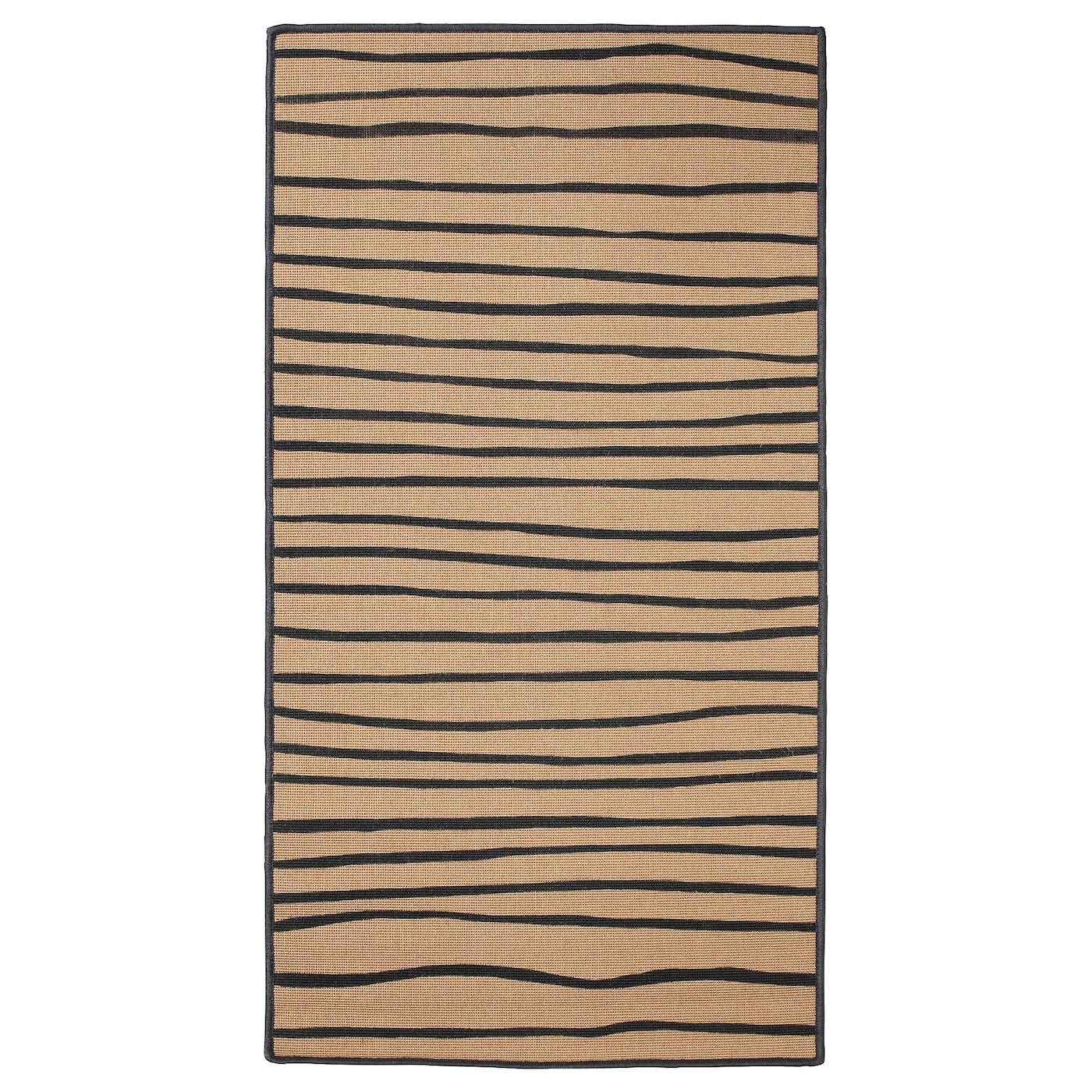 vinter 2017 rug flatwoven striped natural grey 80x150 cm ikea